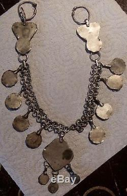 Sublime Berbere Necklace, Old Kabyle, Ethnic Jewel Maghreb, Kabylie