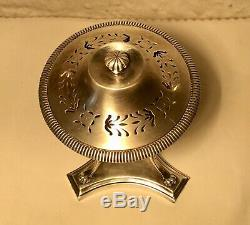 Superb Old Brule Perfume Athenian In 1900 Silver Hallmarked 634gr