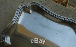 Superb Old Plateau Chantourne Sterling Silver Large Dimension 1200 Grams