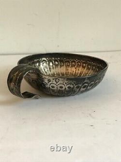 Tastevin Old In Solid Silver 18th Century XVIII Poinçon Divers A Identifier
