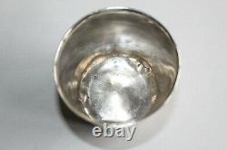 Timbale Former Solid Silver General Farmers Named P. Ponsardin 60gr