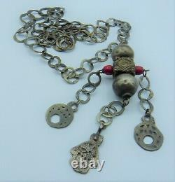 Traditional Silver Rihanna Necklace