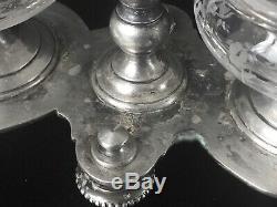 1880 XIXe Rare et ancien salerons par Cailar & Bayard Argenterie et Baccarat