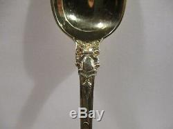 6 Ancienne Petite Cuillere Argent Vermeil Poincons Labbe Vieillard Silver Spoon