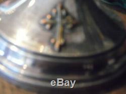 Ancien Calice Argent Massif Minerve Vermeil Croix Eglise Autel Messe