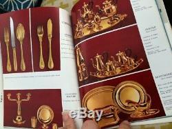 Ancien Catalogue Christofle Argent Massif Cardeilhac Année 60