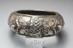 Ancien bracelet en argent Présahara Maroc Ethnic Jewelry