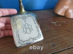 Ancien étui à cigarette ou autre boite en argent massif minerve 1er titre 105gr