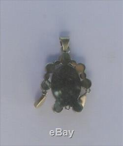 Ancien fin 19eme pendentif émaux Bressans bressan argent bijou bressans régional
