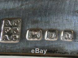 Ancienne Paire Boucle Chaussure Soulier Parure Argent Massif Silver Shoe Buckle