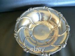 Ancienne coupe ou vide poche ou plat en argent massif 194 gr