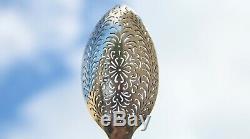 Ancienne cuillère à olives Argent 1e titre poinçon coq Paris 1809 1819