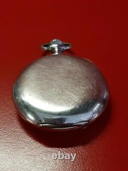Ancienne montre gousset OMEGA argent massif Magnifique cygne