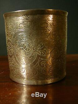 BRACELET EN ARGENT ANCIEN / ANTIQUE SILVER ARMLET 200Grs INDIAN ART