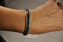 Bracelet Ancien Art Deco Argent Massif Antique Solid Silver Bracelet