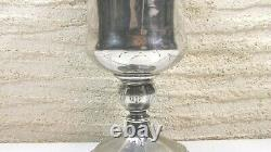 Calice Ciboire Ancien Argent Massif XIX Eme Siecle Catholicisme Eucharistie