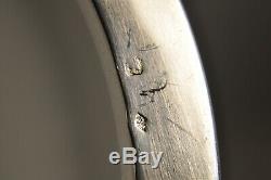 Compotier Ancien Porcelaine Argent Massif Samson Antique Solid Silver Centerpiec