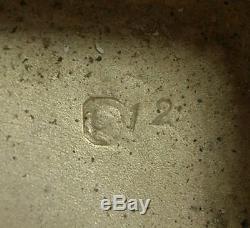 IMPORTANTE BOITE, ETUI A CIGARETTE ANCIEN ART DECO EN ARGENT MASSIF 170g