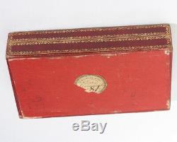 NACRE PALAIS ROYAL ancien nécessaire de couture à coudre antique sewing scissors