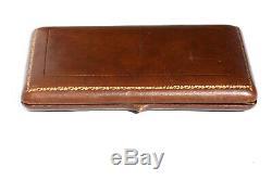 Nécessaire de couture ancien VERMEIL ARGENT MASSIF Fingerhut Napoléon III boîte