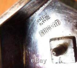 Pagode miniature en argent massif ancien Chine SINGFAT statuette silver
