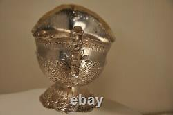 SAUCIERE ANCIEN XVIII ARGENT MASSIF SOLID SILVER SAUCER BOAT 18th c