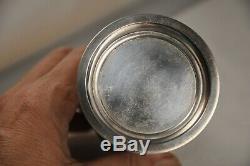 Saupoudreuse Ancien Argent Massif Antique S. Silver Sugar Shaker Birmingham XIX