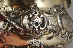 Sucrier Ancien Argent Massif 185gr Victorian Solid Silver Sugar Pot Sheffield