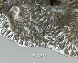 Superbe Cerf ou Daim ancien Argent Massif Minerve