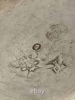 Timbale ancienne en argent massif Fermiers Généraux nommée P. Ponsardin 60gr