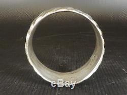 Très Ancien Bracelet BERBERE en ARGENT Massif. Beni Yenni, Kabylie. 163 gr